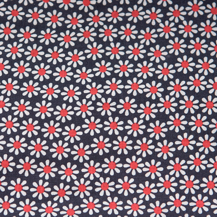 Nadine print scrubs fabric for the operating room hat