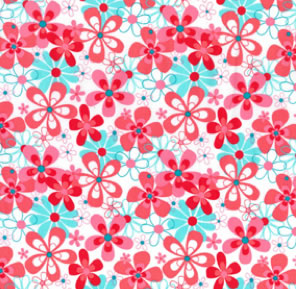 Oopsy Daisy print scrubs fabric for the operating room hat