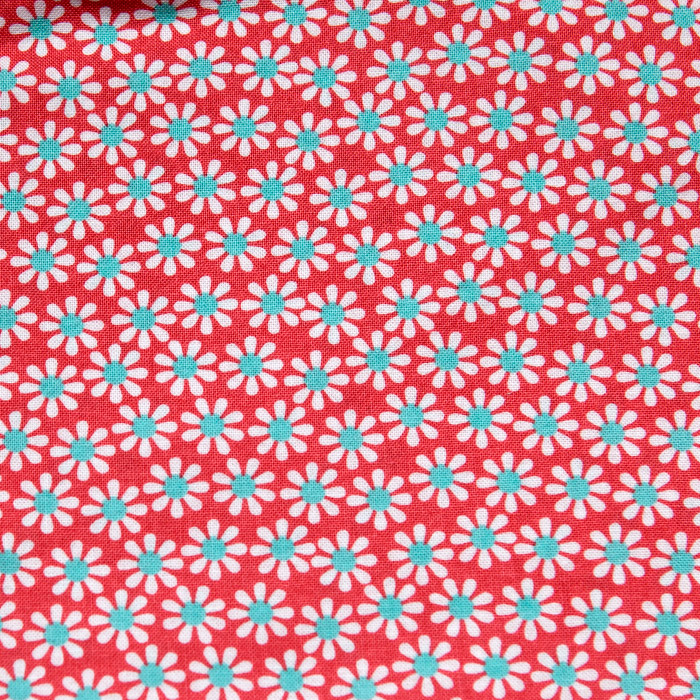 Rochelle print scrubs fabric for the operating room hat