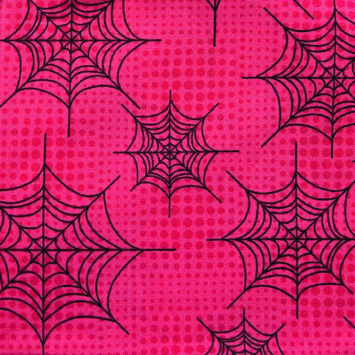 Westchester Webs Pattern Poppy Scrub Bouffant Hat