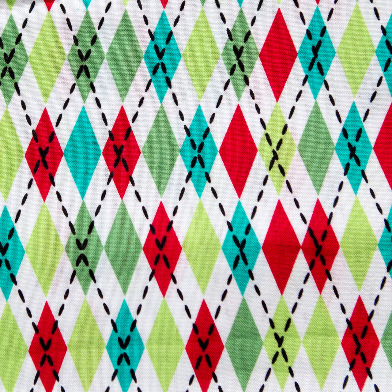 Harlequin Argyle print