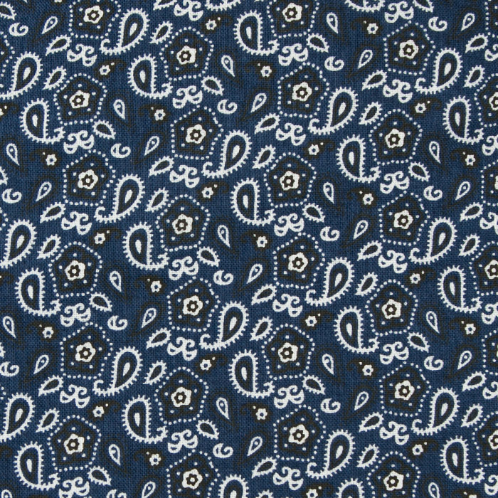 Odessa print scrubs fabric for the operating room hat