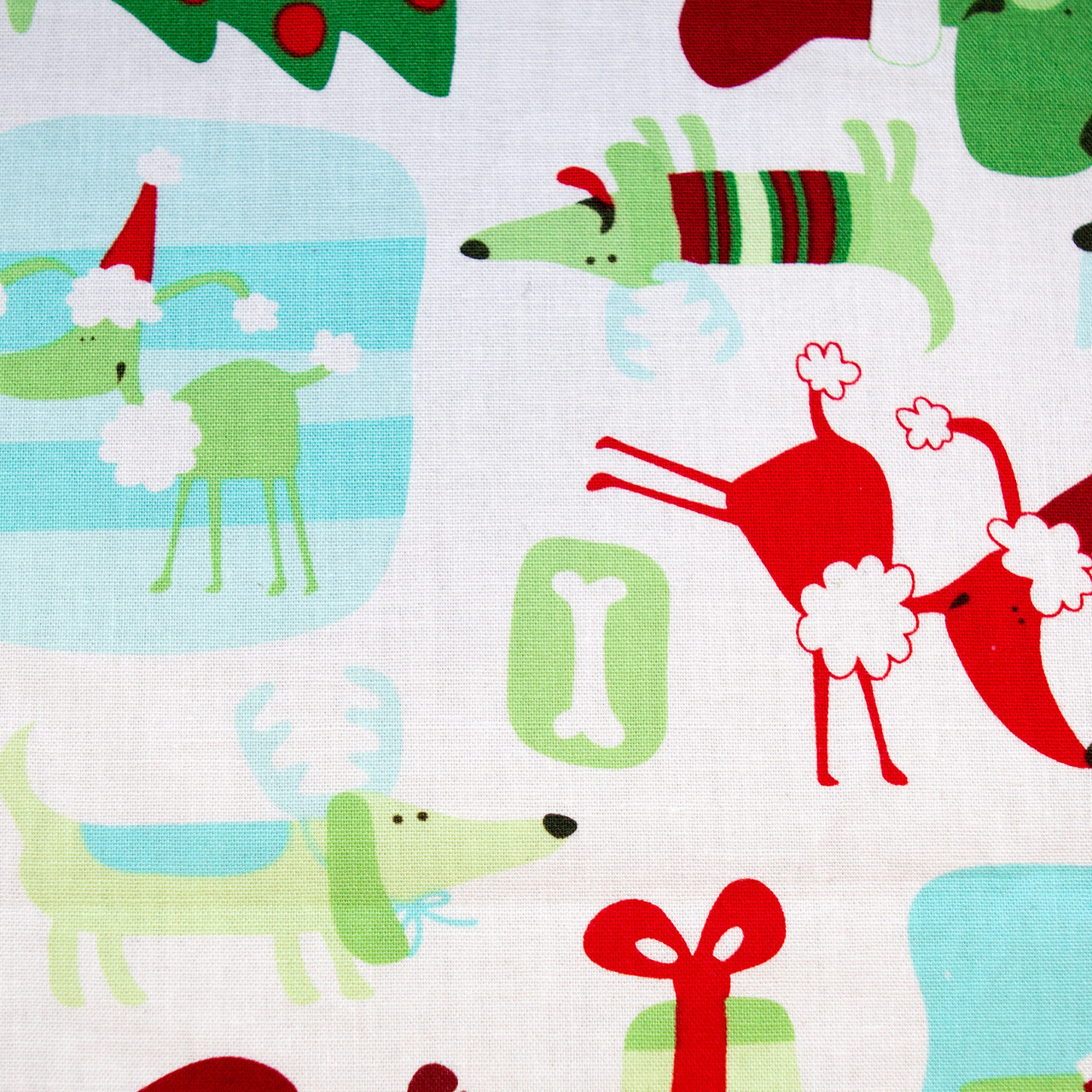 Holiday Hounds print