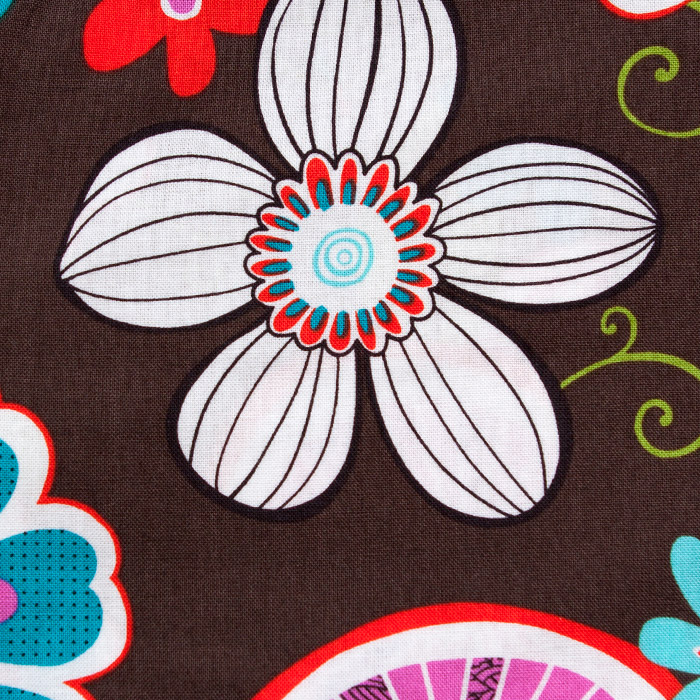 Nagano print scrubs fabric for the operating room hat