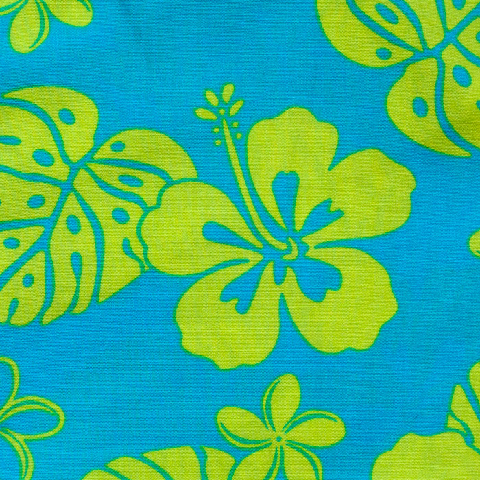 Ewa Beach  print scrubs fabric for the operating room hat