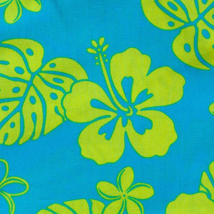 Ewa Beach  print scrubs fabric for the operating room hat