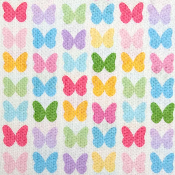 Butterfly Paradise Pattern Poppy Scrub Bouffant Hat