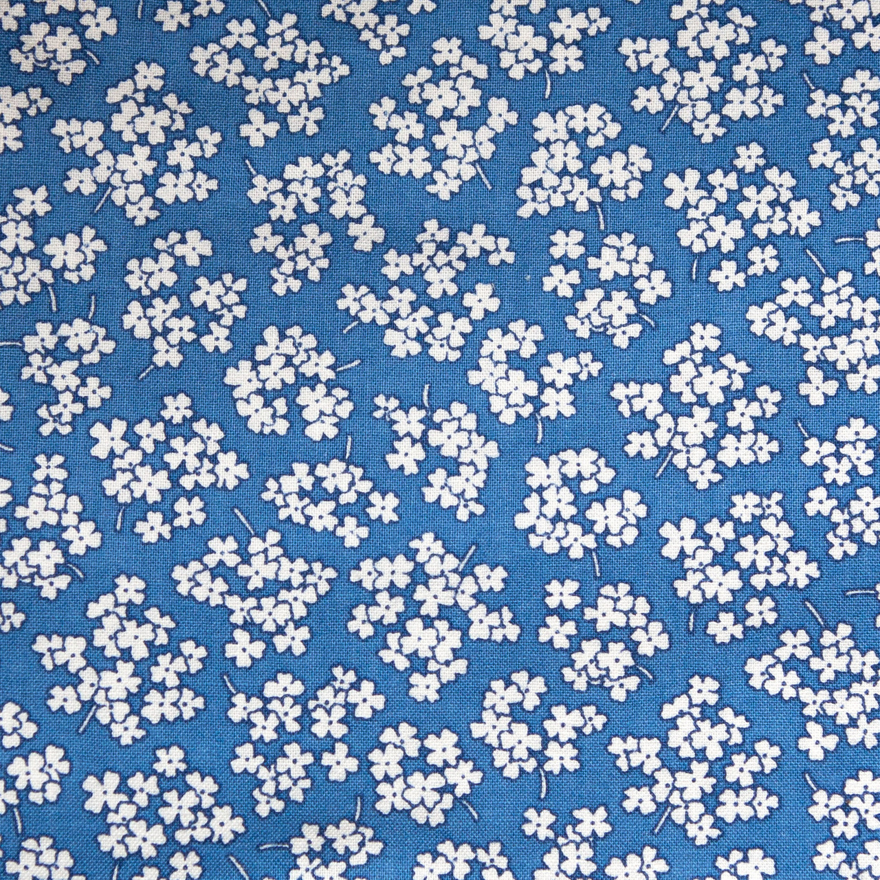 Babys Breath print scrubs fabric for the operating room hat