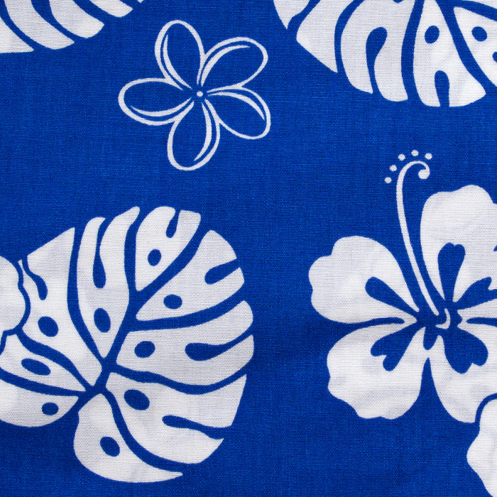 Kaawaloa print scrubs fabric for the operating room hat