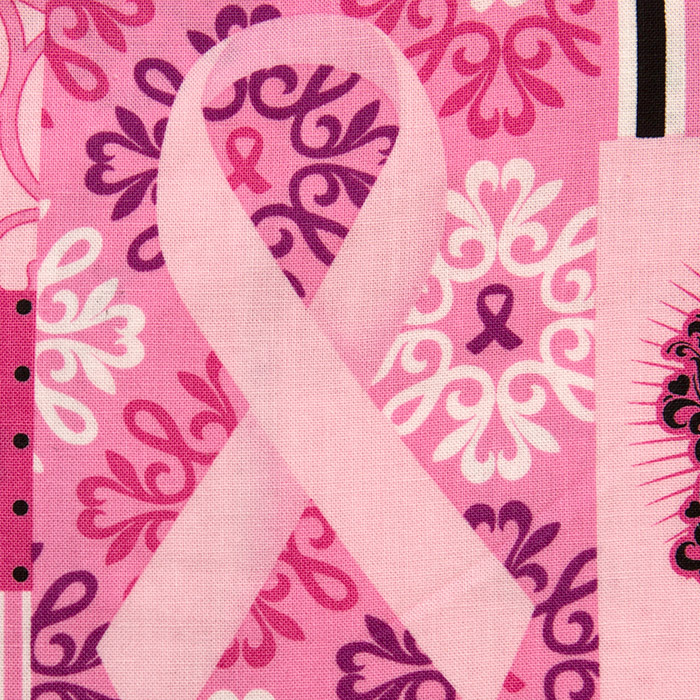 Pinkprint scrubs fabric for the operating room hat