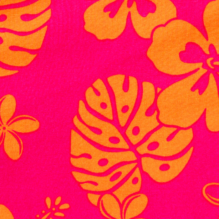 Waikiki  print scrubs fabric for the operating room hat