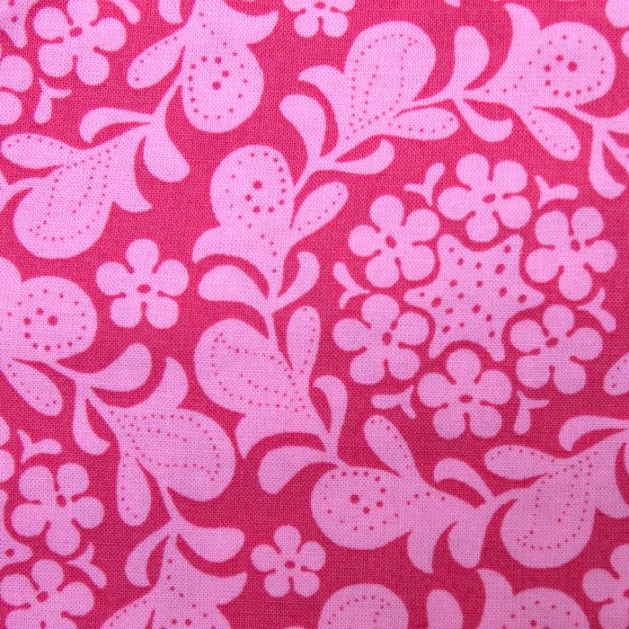 Tifton Floral Pattern Poppy Scrub Bouffant Hat