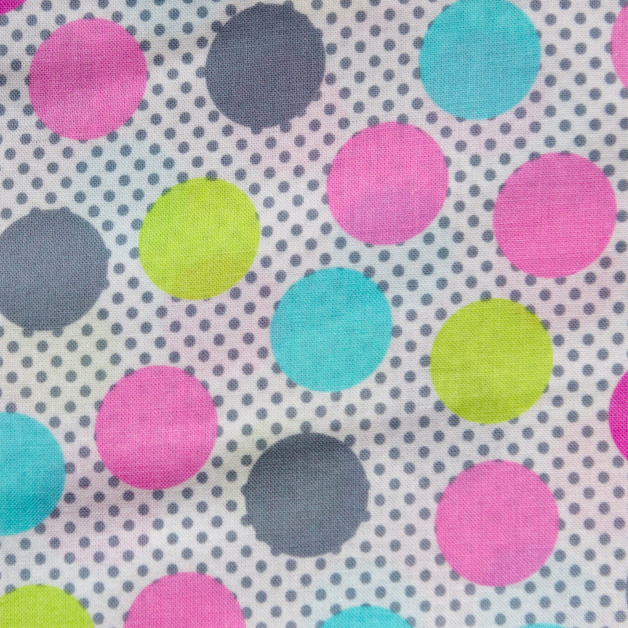Pastel Polka Dots print