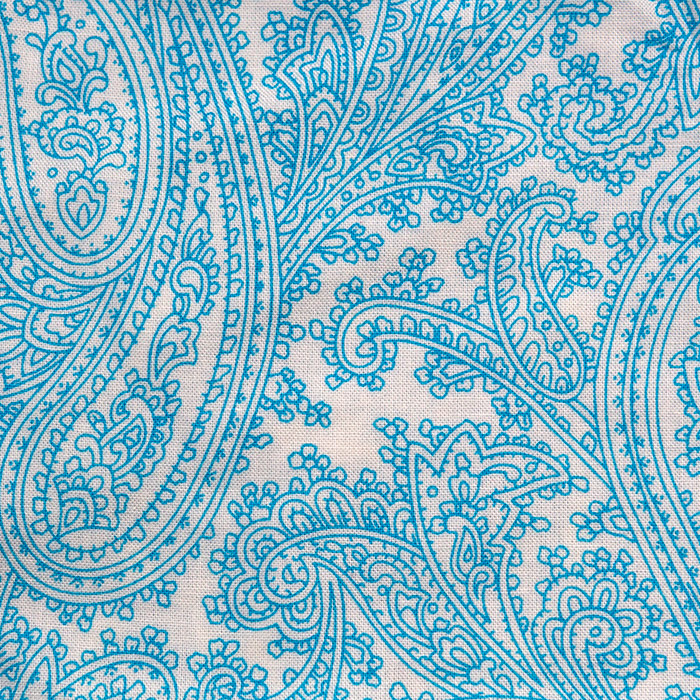 Ceruleanprint scrubs fabric for the operating room hat