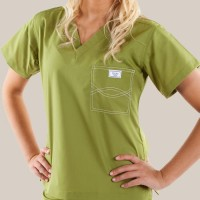 Olive Green Original Scrub Tops