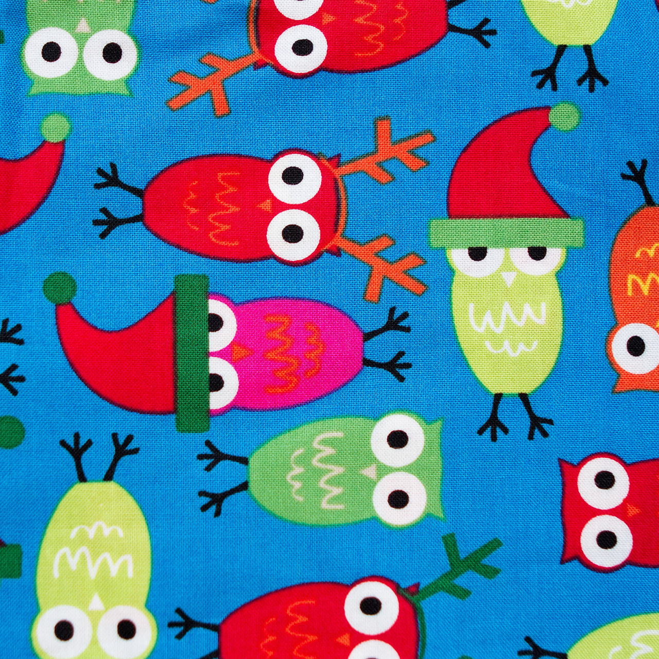 Holiday Hoot print