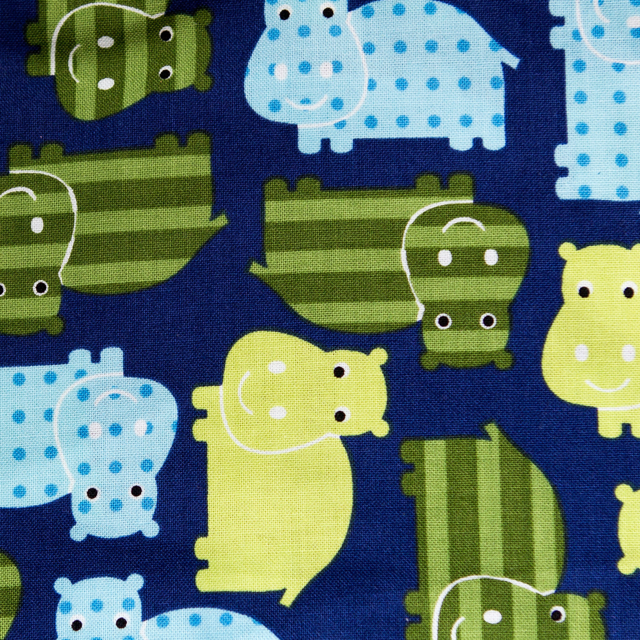 Happy Hippos print