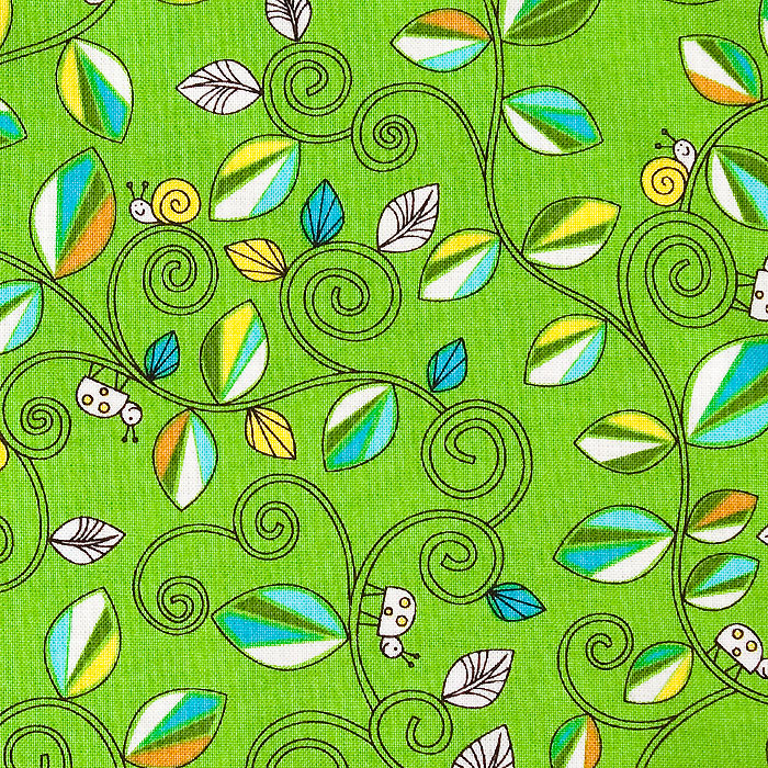 Valerock Vines print scrubs fabric for the operating room hat