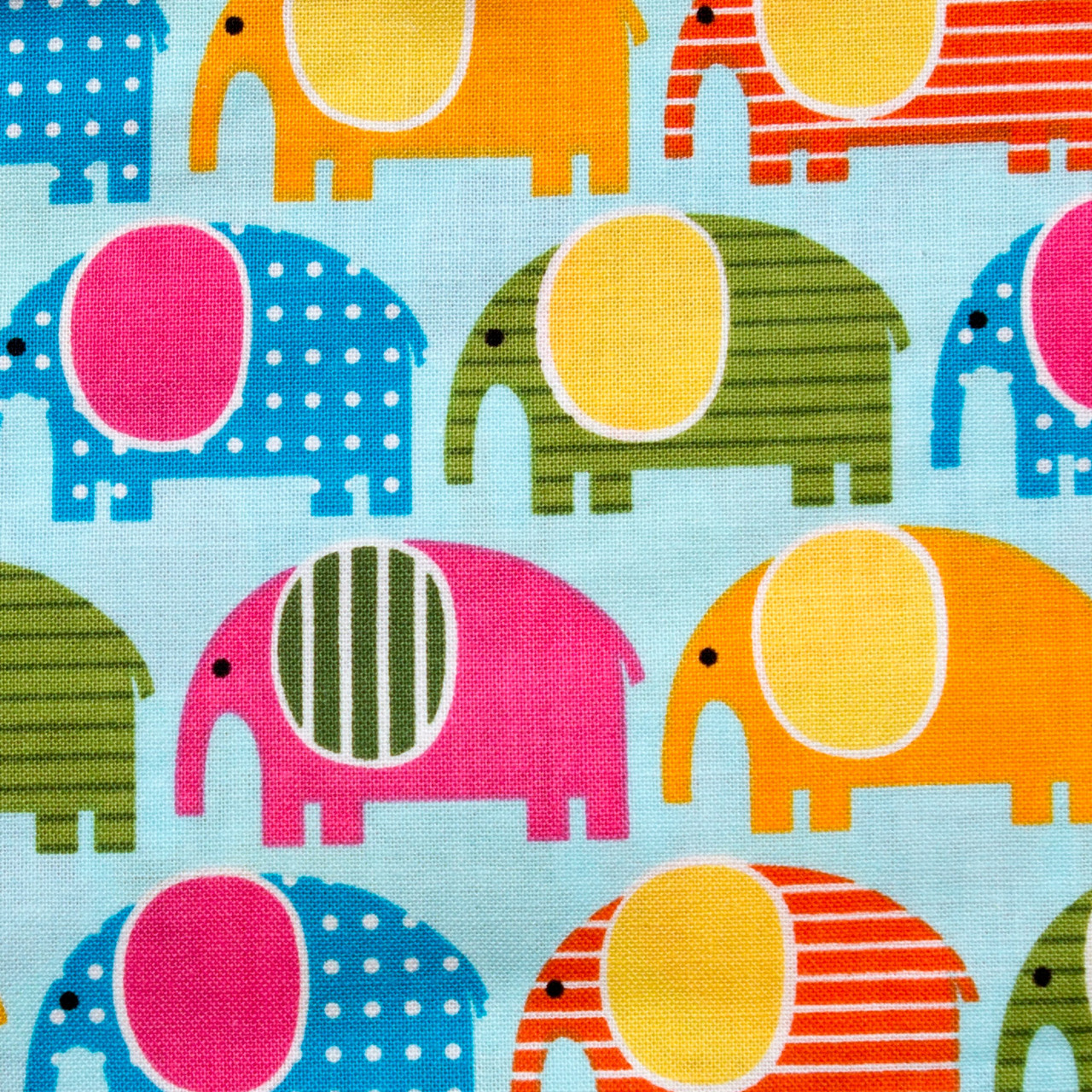Elephant Crossing print