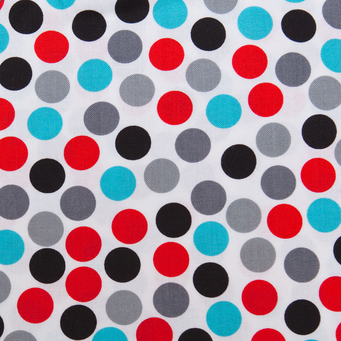 Picadilly Circus print scrubs fabric for the operating room hat
