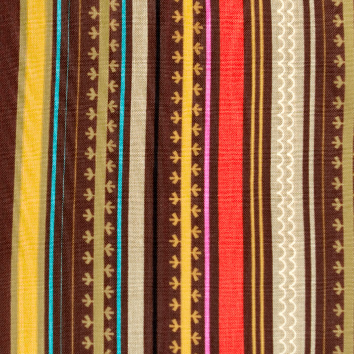 Verona Pattern Poppy Scrub Bouffant Hat