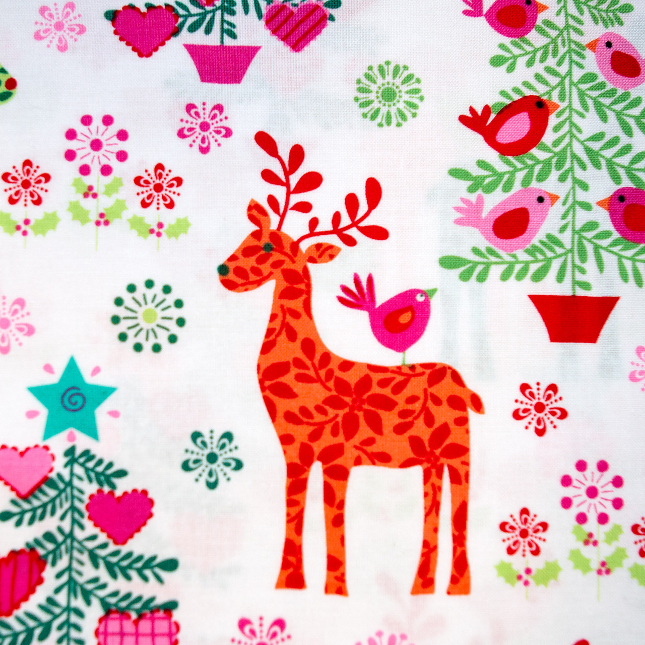 Caribou Christmas print