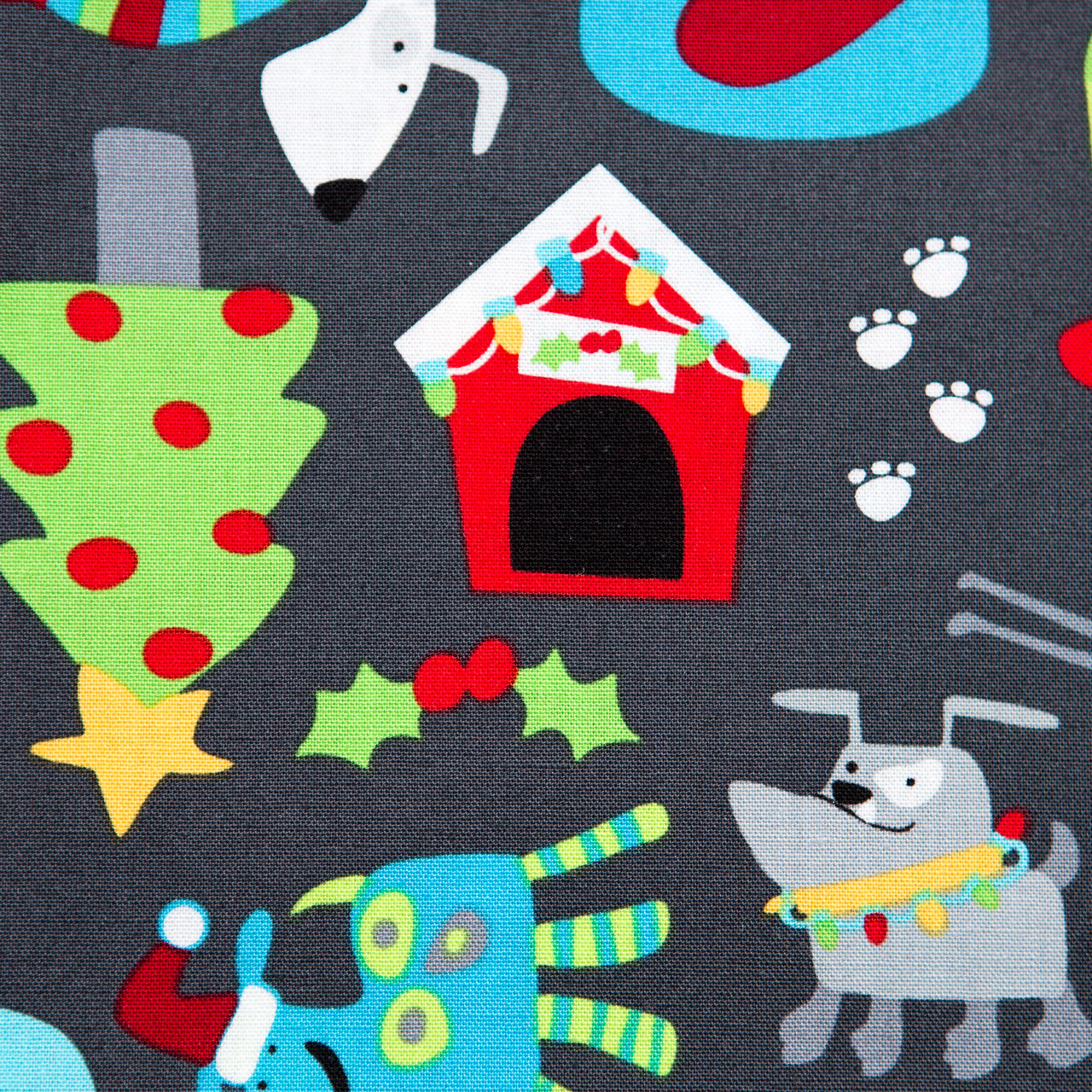 Christmas Pooch print