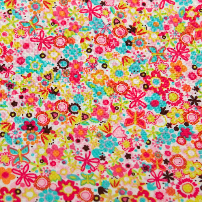Festival print scrubs fabric for the operating room hat