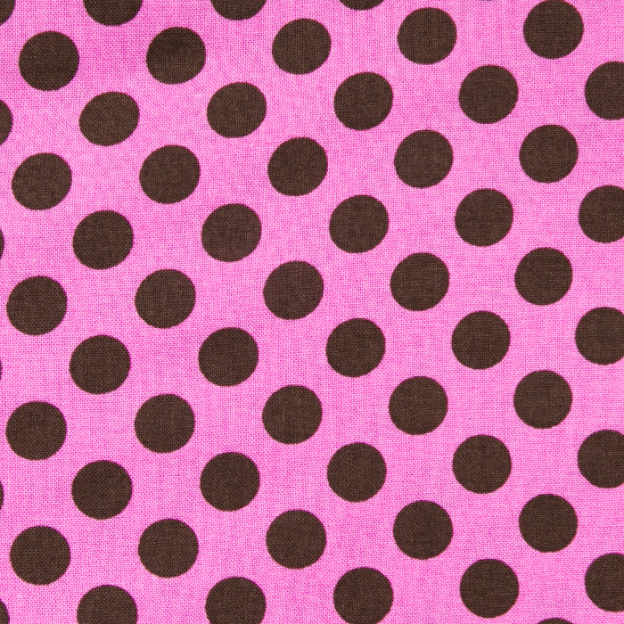 Chocolate Chip print scrubs fabric for the operating room hat