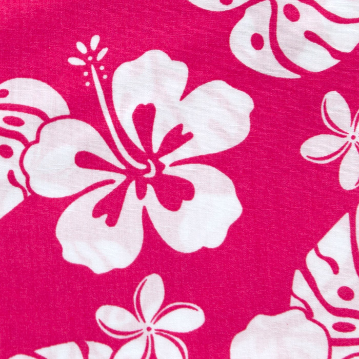 Olowalu  print scrubs fabric for the operating room hat