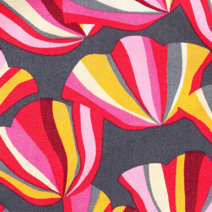 Blissful Pattern Poppy Scrub Bouffant Hat