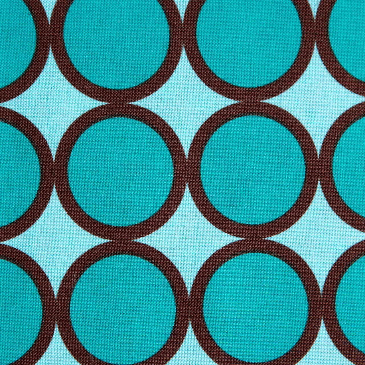 Cerulean Circles print