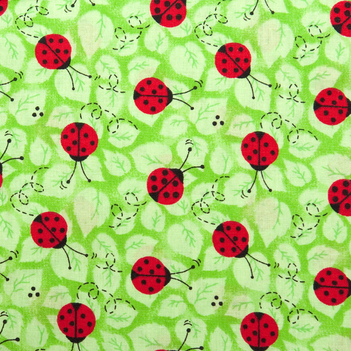 Field Day Pattern Poppy Scrub Bouffant Hat