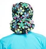 Florentine Pattern Poppy Scrub Bouffant Hat