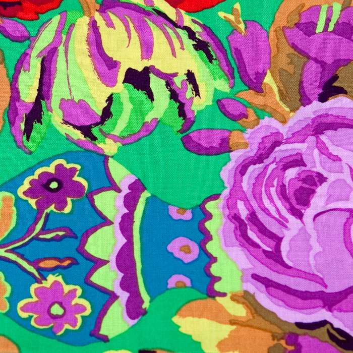 A Dozen Roses Pattern Poppy Scrub Bouffant Hat