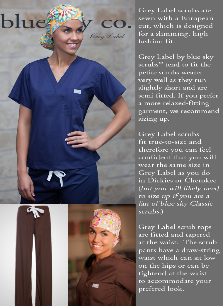 Grey Label scrubs by blueskyscrubs.com