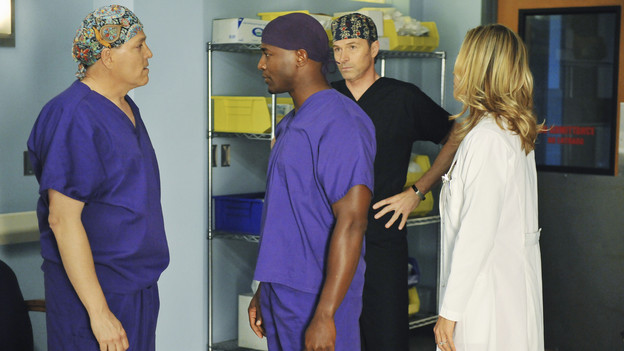 blue sky scrubs on Private Practice