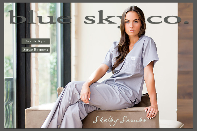 Designer Shelby Scrubs for Women