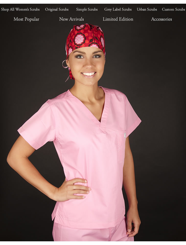 womens scrubs