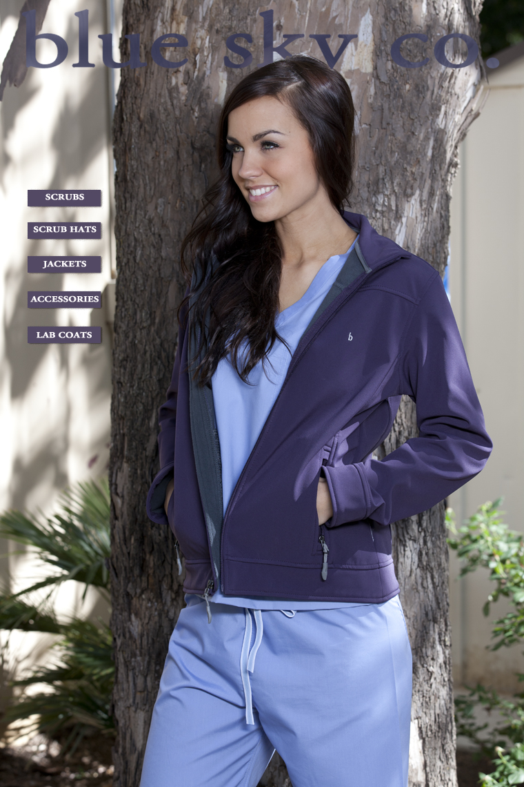 designer hospital uniforms for women by bluesky scrubs