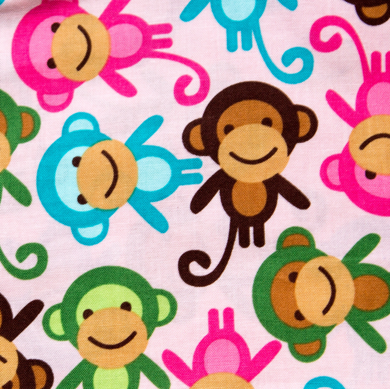 Monkey See Monkey Do print