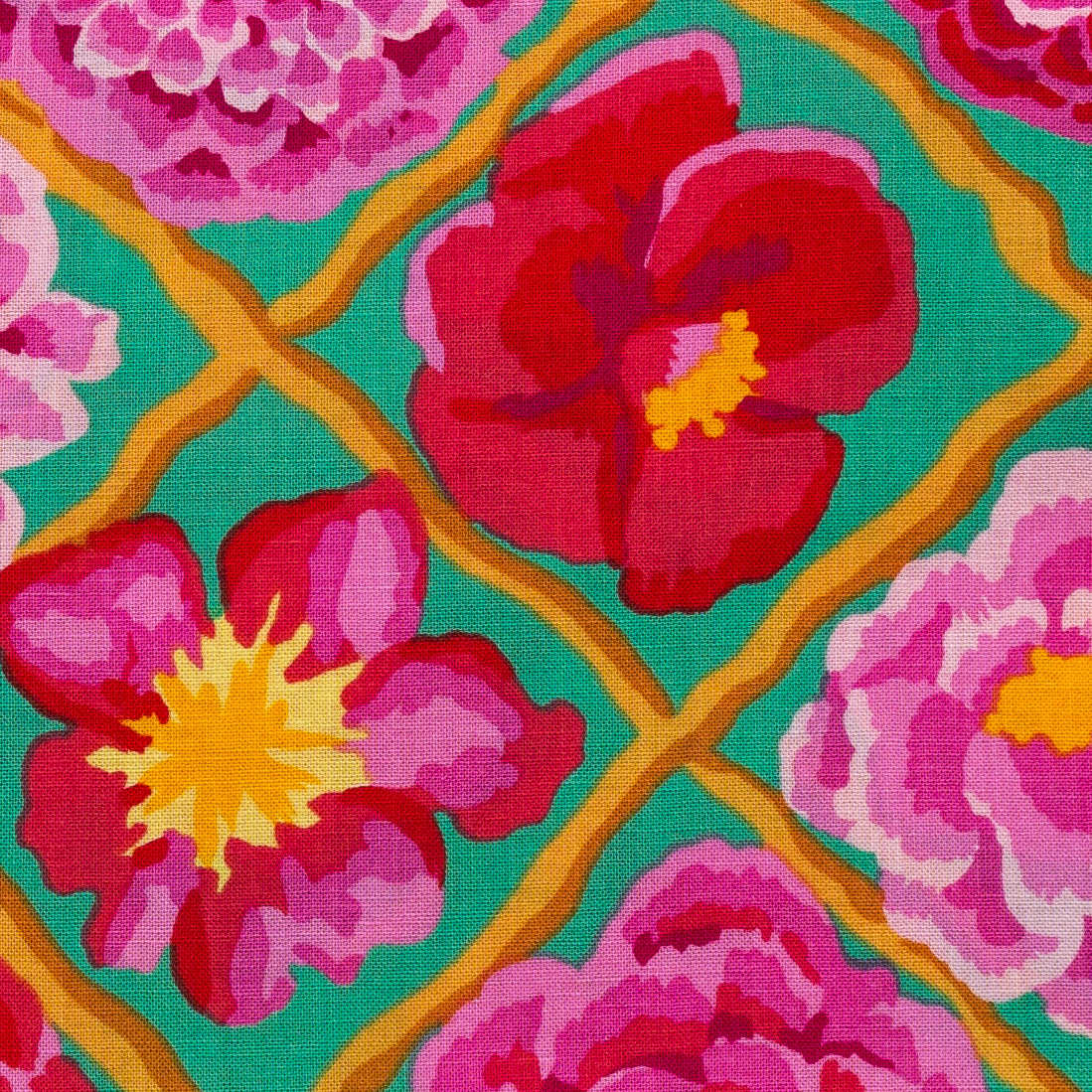 Rose Trellis print